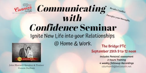 Communicating with Confidence Seminar