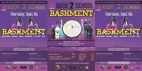 OTB BACK TO SCHOOL BASHMENT tickets