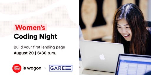 Women's Coding Night: Build your first landing page