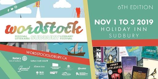 Wordstock Sudbury Literary Festival 6th Edition