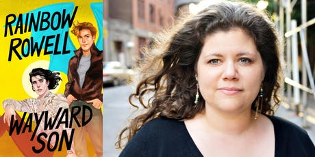 Salon@615 Special Edition with Rainbow Rowell, author of Wayward Son and Eleanor & Park tickets