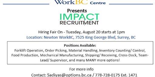 Impact Recruitment Hiring Fair