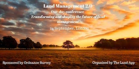 Land Management 2.0 tickets