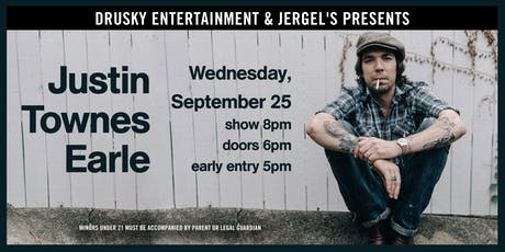 Justin Townes Earle - Saint of Lost Causes Tour 2019 tickets