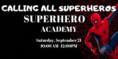 Superhero Academy tickets