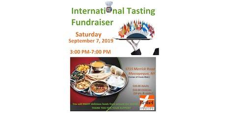 International Tasting Fundraiser tickets