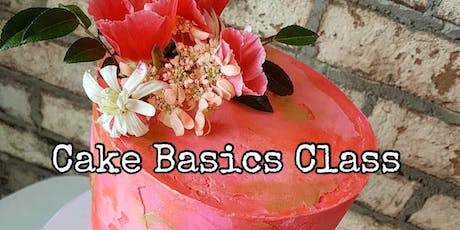 Cake Basics with Fresh Florals - August 28 tickets