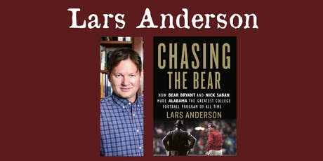 Lars Anderson - Chasing the Bear tickets
