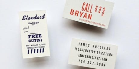 Business Cards tickets
