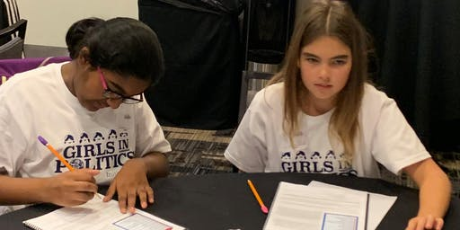 Camp Congress for Girls San Diego Fall 2019