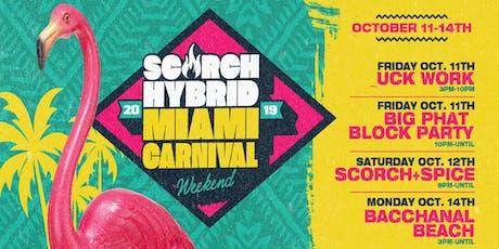 SCORCH Hybrid Miami Carnival Weekend tickets