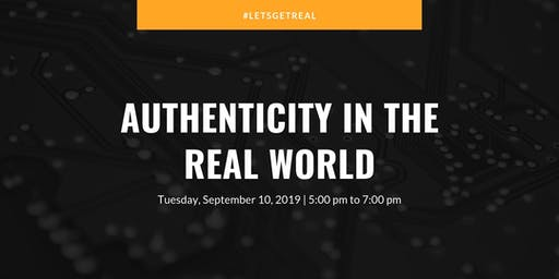 Authenticity in the Real World