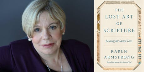 Karen Armstrong: A Secular Case for Scripture tickets