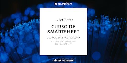 Gestiona tus proyectos con Smartsheet