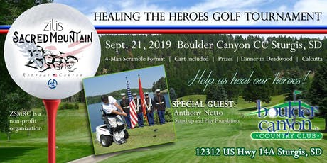 Healing the Heroes Benefit Golf Tournament tickets