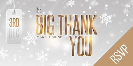 The BIG Thank You tickets