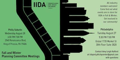 IIDA Philadelphia City Center - SUBURBS Planning Committee Interest Meeting tickets