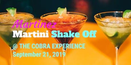 Martinez Martini Shake Off tickets
