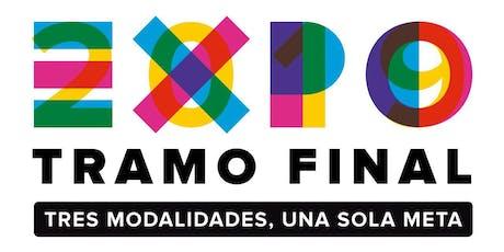 Expo Tramo Final. Tres modalidades una sola meta entradas