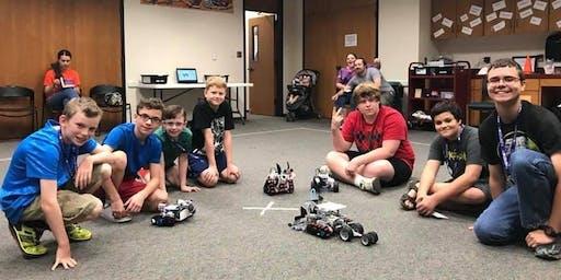 September Afterschool Robotics (ages 10-16)