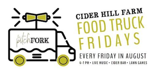 August Food Truck Fridays at Cider Hill Farm