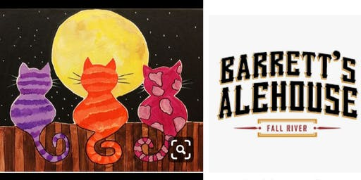 Cats Family Paint Event-All Ages/Fall River $15