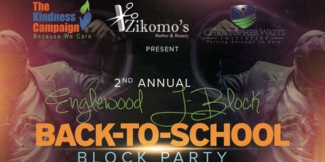 2nd Annual KID Englewood J-Block Back To School Block Party tickets