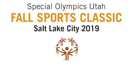 VOLUNTEER FALL SPORTS CLASSIC - Golf - Special Olympics Utah  tickets