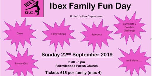 Ibex Gymnastics Club Family Fun Day