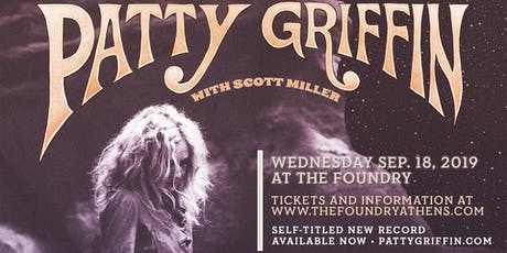 Patty Griffin with special guest Scott Miller tickets