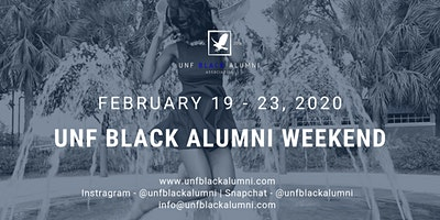 UNF Black Alumni Weekend '20