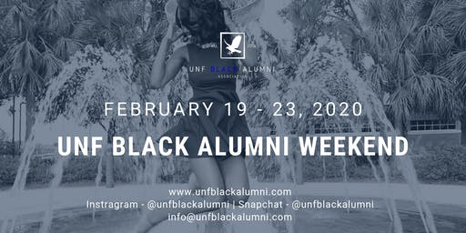 UNF Black Alumni Weekend '20