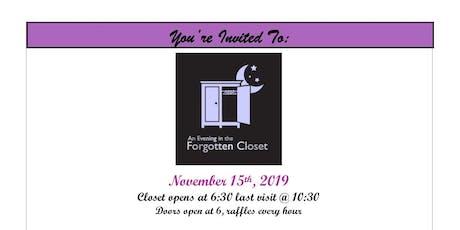 The Forgotten Closet tickets