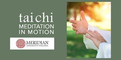 Tai Chi: Meditation on Motion, 4 class pass