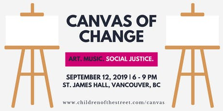 2019 Canvas of Change tickets