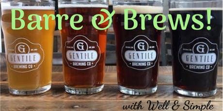 Barre & Brews with Gentile Brewing tickets
