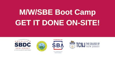M/W/SBE Certification Boot Camp