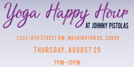 FREE Yoga Happy Hour tickets