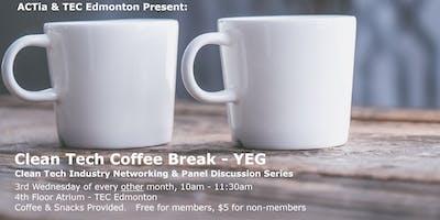 ACTia Clean Tech Coffee Break - Edmonton Panel Discussion Series