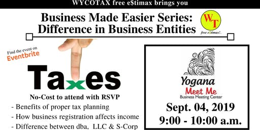 Business Made Easier: Difference in Business Entities