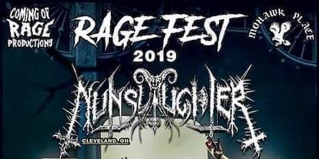RAGE Fest 2019: Nunslaughter, Beyond Deth, Anthropic, Malas, Cenentary, +++ tickets