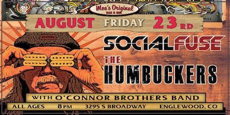 The Humbuckers & SocialFuse at Moe's Original BBQ Englewood tickets