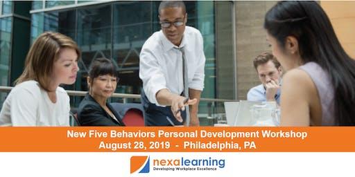 The New Five Behaviors Personal Development Workshop