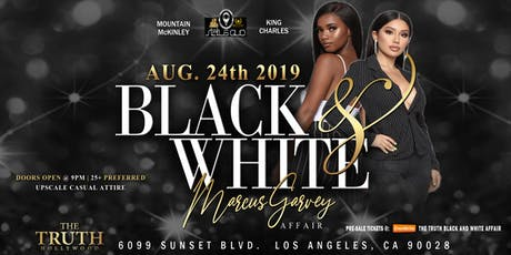 Black & White Marcus Garvey Affair tickets