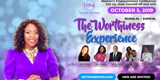 Get Up, Dust Yourself Off And Win!  Women's Empowerment Conference