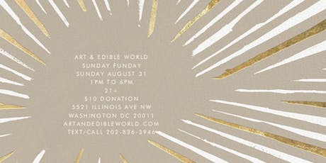 Saturday Art & Edible World tickets