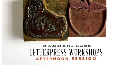 Letterpress Fall Greeting Card Workshop (Afternoon Session)