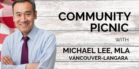 Community Picnic with Michael Lee, MLA Vancouver-Langara tickets
