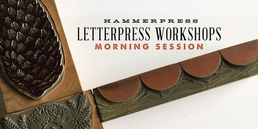 Letterpress Fall Greeting Card Workshop (Morning Session)