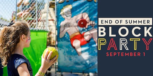Free End of Summer Block Party